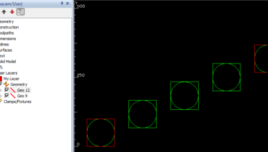 geometry moved to user layer