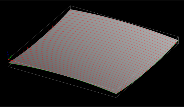 parallel surface machining