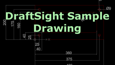 DraftSight Sample Drawing