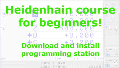 heidenhain tutorial