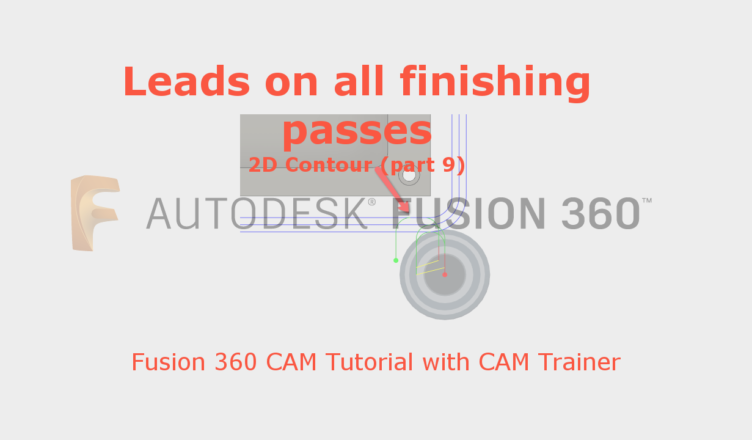 leads on all finishing pass