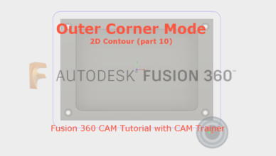 outer corner mode fusion 360