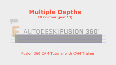 multiple depths fusion 360