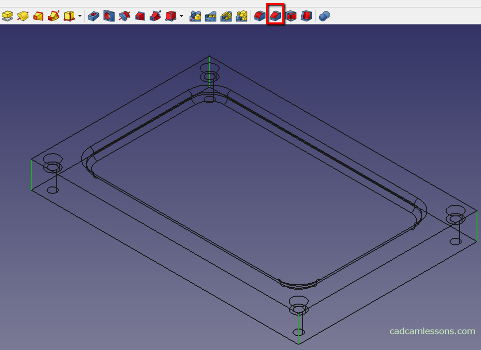 FreeCAD Tutorial - Quick Start - cadcamlessons