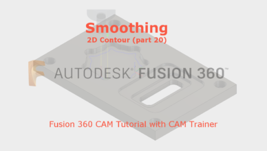 fusion 360 smoothing