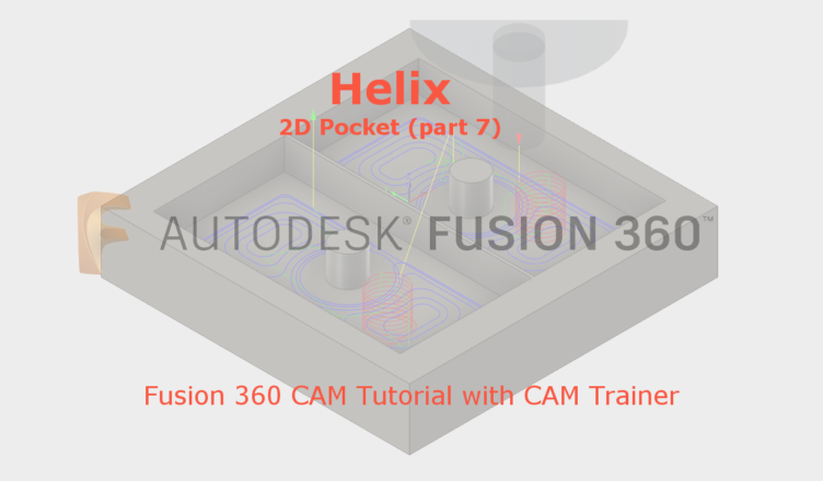 Tool Entry Fusion 360 2D Pocket - Fusion 360 Tutorial