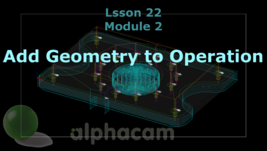 add geometry to operation