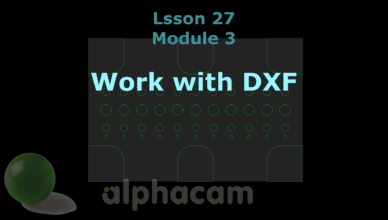 work with dxf