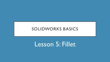 solidworks fillet