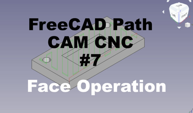face operation freecad